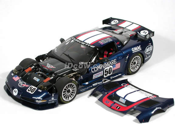 2003 Chevrolet Corvette C5R #50 Compuware diecast model car 1:12 scale die cast by GMP