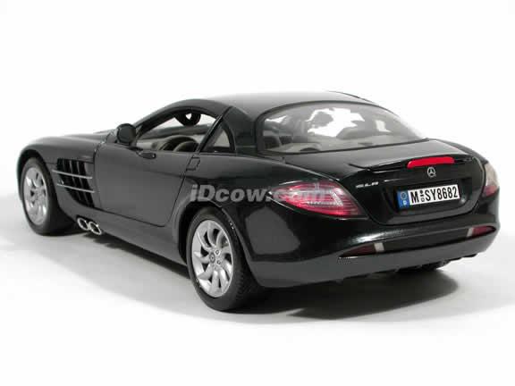 2005 Mercedes Benz McLaren SLR diecast model car 1:12 scale die cast by Motor Max - Metallic Black