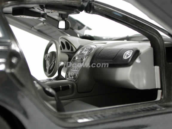 2005 Mercedes Benz McLaren SLR diecast model car 1:12 scale die cast by Motor Max - Metallic Black
