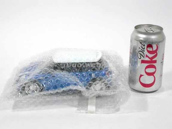 2007 Mini Cooper S diecast model car 1:24 scale die cast by Jada Toys - Blue