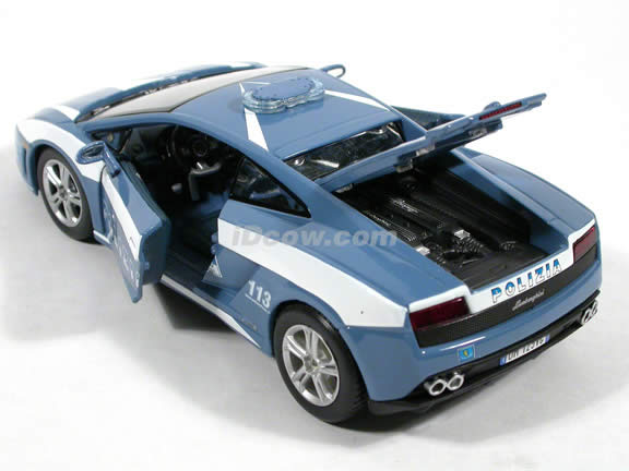 2004 Lamborghini Gallardo Police Car diecast model car 1:24 scale by Maisto