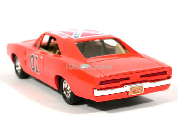 1969 Dodge Charger diecast model car 1:25 scale