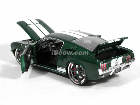 1967 Ford Mustang Fast and Furious 3 diecast model car 1:20 scale die cast by Ertl - 37459