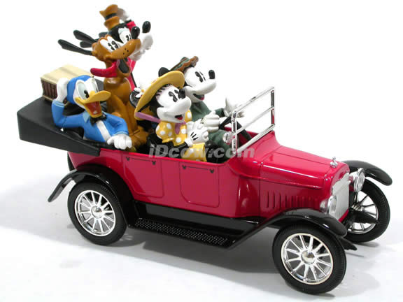 1917 Disney Sunday Drive Touring Car with Mikey and the Gang diecast model car 1:24 scale die cast by Ertl - 27015