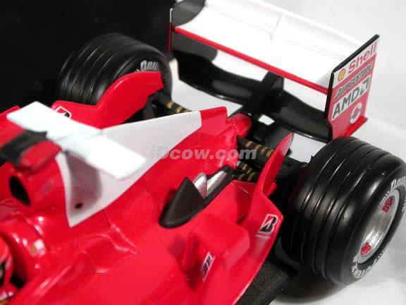2004 Ferrari Formula One F1 Michael Schumacher diecast model car 1:24 scale die cast by Hot Wheels