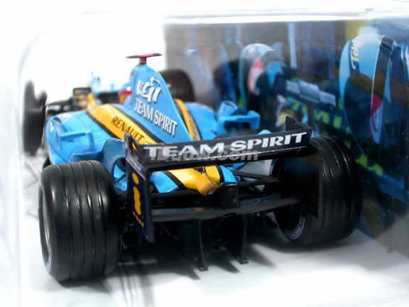 2005 Renault Formula One F1 R25 #5 Fernando Alonso diecast model car 1:24 scale die cast by Hot Wheels - J7521