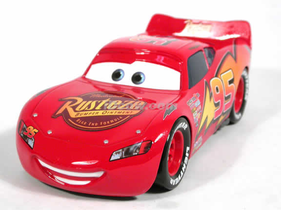 2006 Disney Pixar Cars Lightning Mcqueen Diecast Model Car 1 24