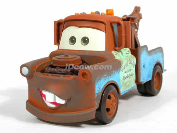2006 Disney Pixar Cars Mater Tow Truck diecast model car 1:24 scale die cast by Mattel - H8224