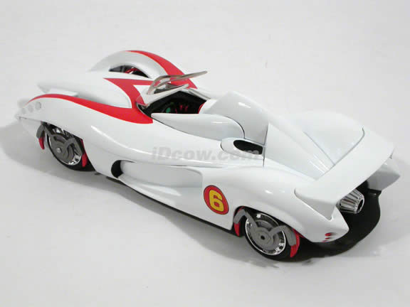 2008 Speed Racer Mach 6 diecast model car 1:24 scale die cast by Hot Wheels - M5979