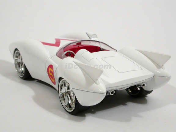 Speed Racer Mach 5 diecast model car 1:24 scale die cast by Jada Toys - 53068