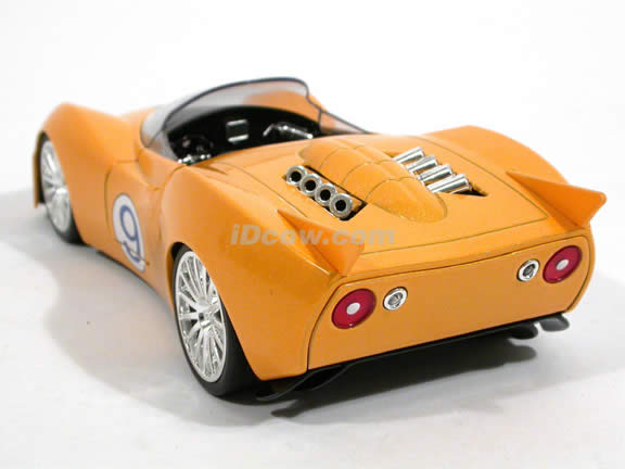 Speed Racer Shooting Star diecast model car 1:24 scale die cast by Jada Toys - 91977