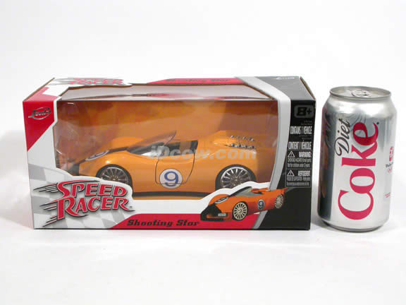 Speed Racer Shooting Star diecast model car 1:24 scale die cast by Jada Toys - 91977