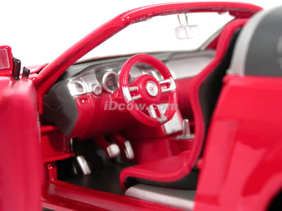 2005 Ford Mustang GT Convertible Concept diecast model car 1:24 scale die cast by Maisto - Red