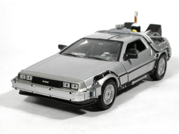 Back to the Future II diecast model car 1:24 scale die cast by Welly