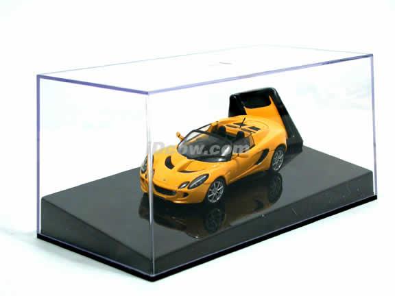 2004 Lotus Elise 111S diecast model car 1:43 scale die cast from AUTOart - Saffron Yellow 55341
