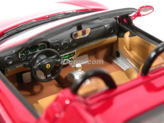 2000 Ferrari 360 Spider diecast model car 1:43 scale die cast by ixo - Red