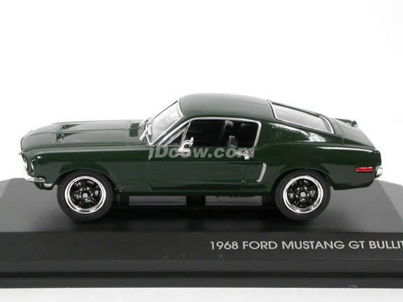 1968 Ford Mustang GT Bullit diecast model car 1:43 scale Steve McQueen by Yat Ming