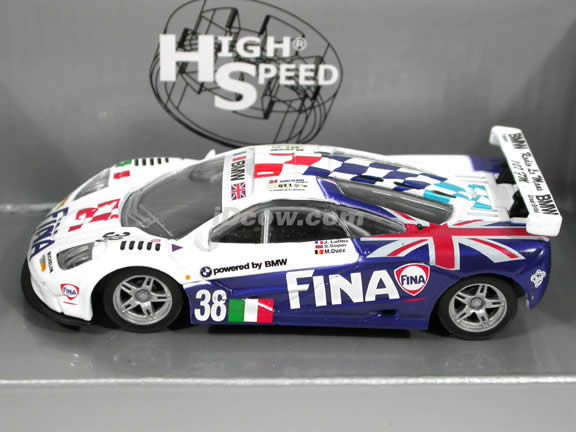 1995 McLaren F1 GTR #38 diecast model car 1:43 scale die cast by High Speed