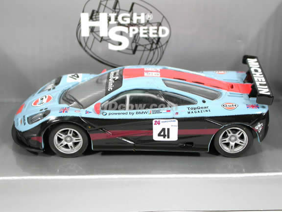 1995 McLaren F1 GTR #41 diecast model car 1:43 scale die cast by High Speed