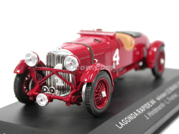 1935 Lagonda Rapide #4 Le Mans Winner diecast model car 1:43 scale die cast by ixo