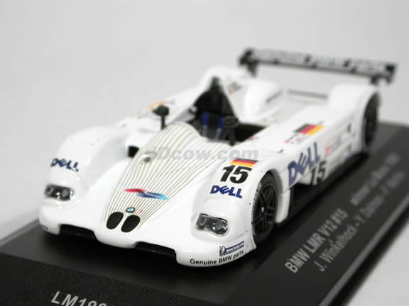 1999 BMW LMR V12 #15 Le Mans Winner diecast model car 1:43 scale die cast by ixo