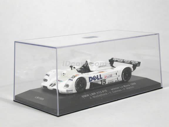 1999 BMW LMR V12 #15 Le Mans Winner diecast model car 1:43 scale die cast by ixo