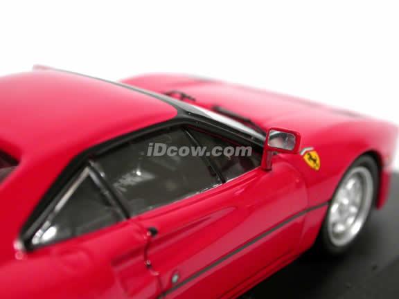 1984 Ferrari 288 GTO diecast model car 1:43 scale die cast by ixo - Red FER002