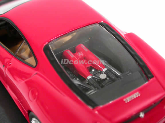 2005 Ferrari F430 diecast model car 1:43 scale die cast by ixo - Red FER014