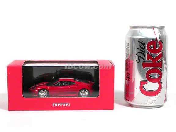 2003 Ferrari 360 Challenge Stradale diecast model car 1:43 scale die cast by ixo - Red FER011