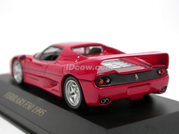 1995 Ferrari F50 diecast model car 1:43 scale die cast by ixo - Red FER012