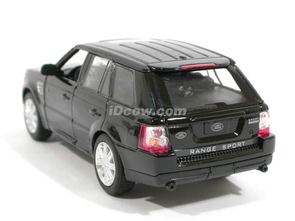 2006 Land Rover Range Rover Sport diecast model Car 1:32 scale die cast by Kinsmart - Black