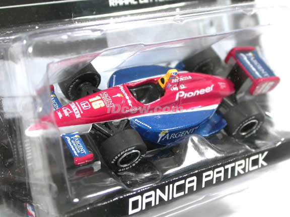 2005 Indy Race Car #16 Danica Patrick IRL diecast model race car 1:64 scale die cast from GreenLight Toys