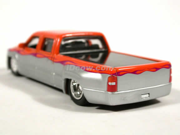 Chevy Crew Cab - Ford F-150 diecast model trucks 1:64 scale die cast by Hot Wheels