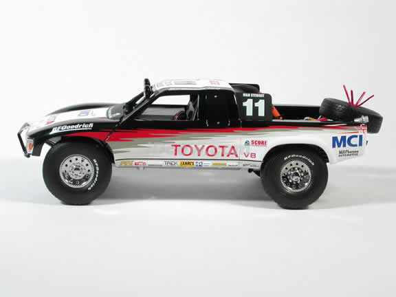 1998 Toyota Baja Trophy Truck - Ivan Stewart MCI #11 diecast model truck 1:18 scale by AUTOart