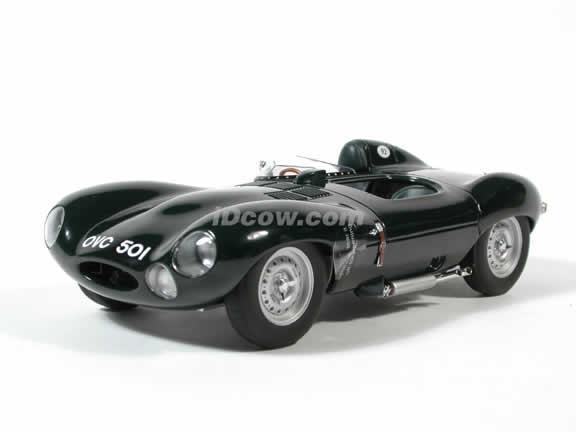 1954 Jaguar D Type diecast model car 1:18 scale by AUTOart