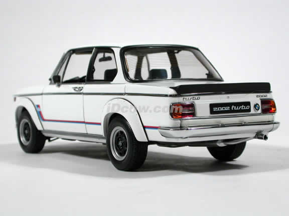1971 BMW 2002 Turbo diecast model car 1:18 scale by AUTOart - White