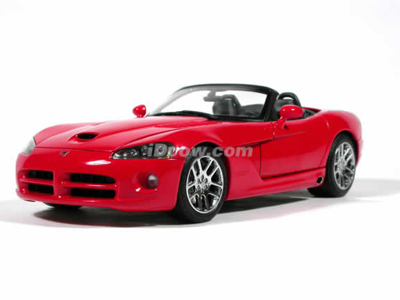 2003 Dodge Viper SRT-10 diecast model car 1:18 scale by AUTOart - Red