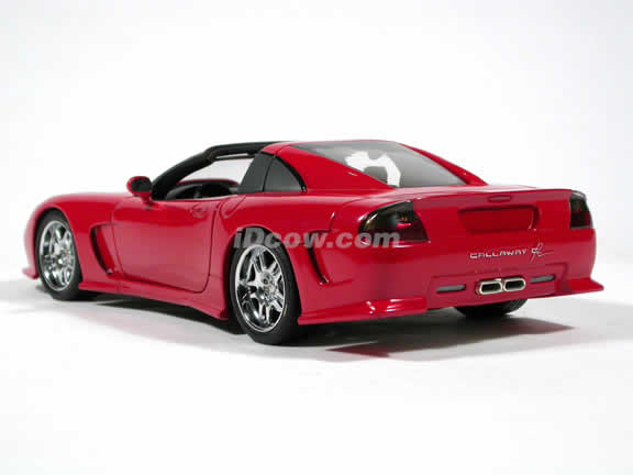 1998 Callaway Corvette C12 diecast model car 1:18 scale by AUTOart - Red