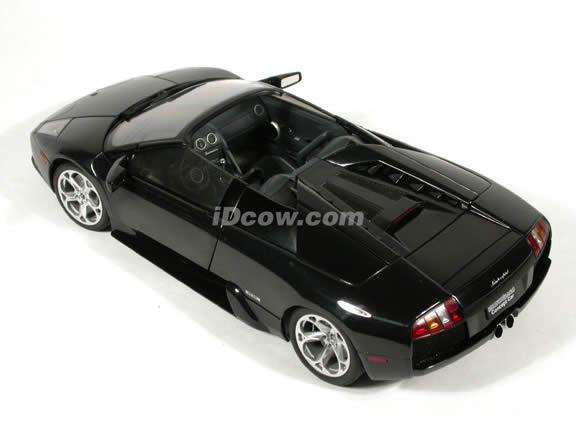 Lamborghini Murcielago Barchetta Concept diecast model car 1:18 scale die cast by AUTOart - Black