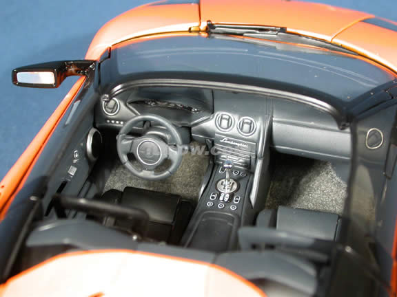 Lamborghini Murcielago Barchetta Concept diecast model car 1:18 scale die cast by AUTOart - Orange