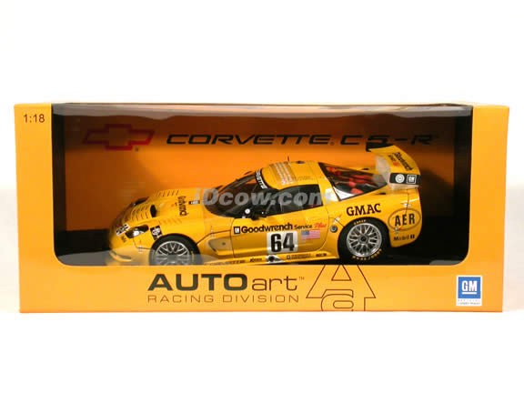 2001 Chevrolet Corvette C5-R #64 - Le Mans diecast model car 1:18 scale by AUTOart
