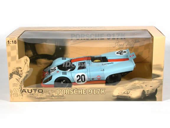 Porsche 917K diecast model car Steve McQueen collection #20