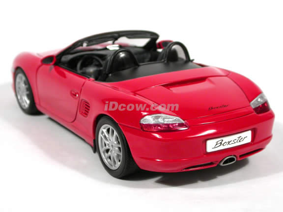 2004 Porsche Boxster diecast model car 1:18 scale die cast by AUTOart - Red