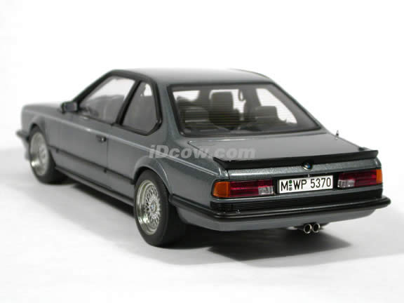 1988 BMW M 635 CSI Shadow Line diecast model car 1:18 scale die cast by AUTOart - Delphin Metallic