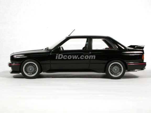 1990 BMW M3 diecast model car 1:18 scale Sport Evolution by AUTOart - Black