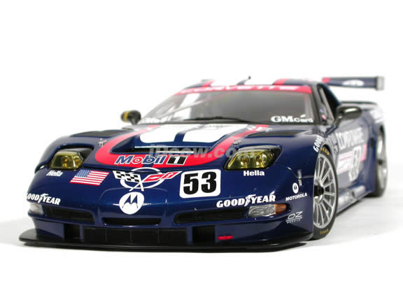 2003 Chevrolet Corvette C5-R #53 Lemans diecast model car 1:18 scale die cast by AUTOart