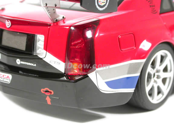 2004 Cadillac CTS-V SCCA World Challenge #8 diecast model car 1:18 scale die cast by AUTOart