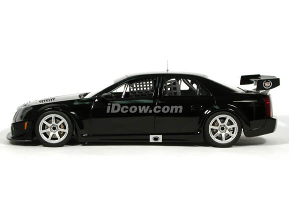 2004 Cadillac CTS-V SCCA World Challenge GT diecast model car 1:18 scale die cast by AUTOart - Plain Body Black
