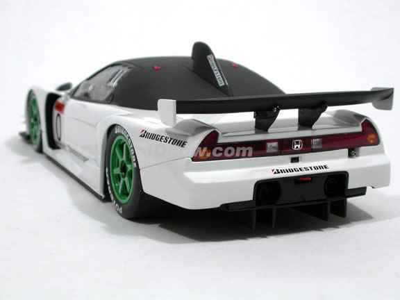 2003 Acura NSX diecast model car 1:18 scale JGTC Test Car by AUTOart - White 80396