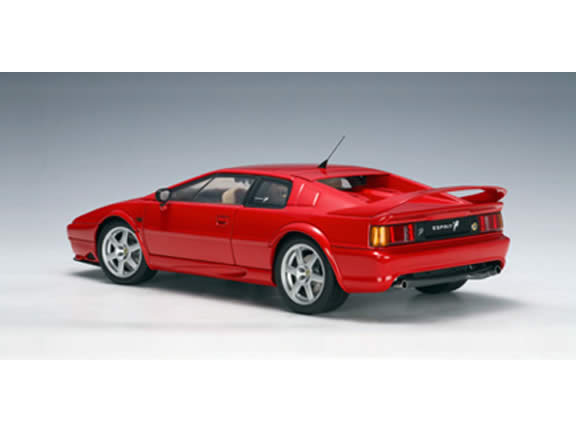 2004 Lotus Esprit diecast model car 1:18 scale V8 by AUTOart - Red 75311